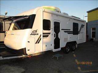 Jayco Silverline MY18, ...SOLD...Model 21.63-3, Tandem Slideout Caravan, Fully Optioned....