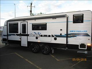 "2018  Montana Westwood Family Van, 22'6"" Bunks, Queen Bed, Ensuite......Semi Off Road"