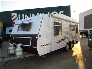 2004  Nomad by Traveller,....SOLD.....  20' Tandem Axle Tourer, Shower and Toilet, Previous One Owner Van......