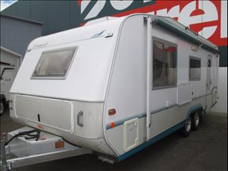 2003 Golf Linwood 20' Touring Caravan, Queen Bed and Full Ensuite.....