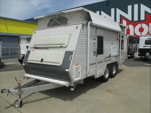 """2004 Coromal  SEKA  Pioneer  535  XC  Off Road  17'6"""" Pop Top,  Shower and Toilet, Double Bed....."""