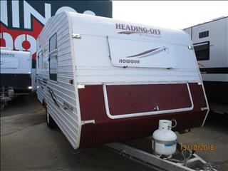"2005 Traveller Heading Off, 17'6"" Single Axle Tourer "" Howqua Model"",....."