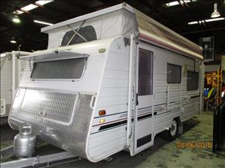 "2003 Supreme Spirit Pop Top, 16'6"" Single Axle Tourer, Front Kitchen, Single Beds......."