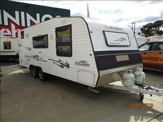 "2012 Traveller Sensation...SOLD... 21'6"" Tandem Tourer, Full Ensuite, Queen Bed, Heaps of Features......"
