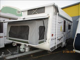 2007 Paramount Duet Family Van, Sleeps up to 6 Persons Inside, Single Axle Tourer......