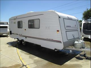 "1995 Island Star Caravan,  20'6"" Tandem Tourer, shower and Toilet, East/West Double Bed......"