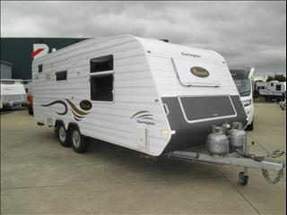 Coronet Carrington ....SOLD....Luxury 21' Tandem Tourer, Queen Bed, Full Ensuite and Washing Machine, As New...