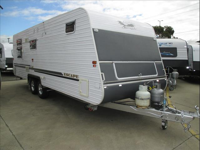 "Golden Eagle Escape Family Bunk Van, 2008 , 24' 6"" Separate Shower and Toilet, built by Paramount Caravans"