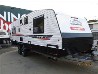 "2018 Traveller Utopia  22'6"" Rear  Cafe  Lounge Model, Queen Bed,  Shower and Toilet......."