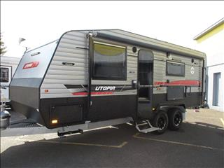 2019 Traveller Utopia Off Road Tourer, 21' Tandem, Queen Bed, Rear Ensuite, Cafe Seating.......