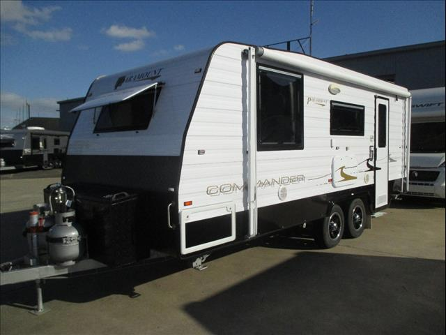 "2014 Paramount Commander 19'6""..SOLD..., Limited Edition, Full Ensuite, Queen Bed, Tandem Tourer"