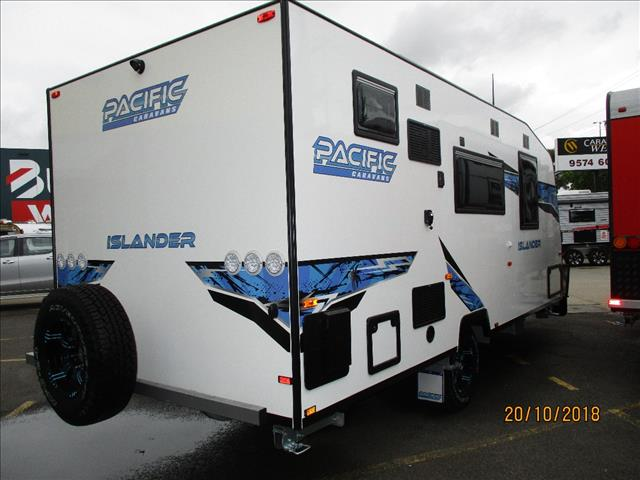 Pacific  Islander 18' Full Ensuite, Queen Bed, Single Axle Tourer, Semi Off Roader.......