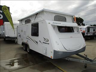 "2009 Jayco Sterling Pop Top, 17'6"" Tandem, Shower and Toilet, Double Bed, L- Shaped Lounge...."