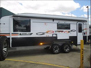 "2017  Traveller Utopia , 22'6"" Rear Cafe Model, OFF ROAD, Queen Bed, Full Ensuite, Zoned Living....."