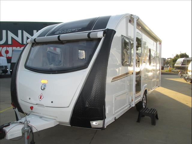 Swift Explorer MK2 Model 4FB,  Double Bed, Full Ensuite, Sleeps 4 Persons
