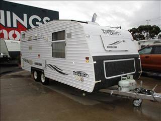 2004 Traveller Hurricane 20'...SOLD.... Tandem Tourer,  Double Bed, Shower and Toilet ,  Rear Lounge.....