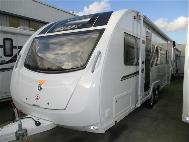 SWIFT Explorer 6 (MK11), 2016 Model, 6 Berth Family Bunk Van With Shower and Toilet...Just Arrived