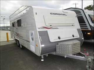Coromal Capri 600...SOLD...Tandem Tourer 2004 Model, Double Island Bed, Shower and Toilet and Washing Machine