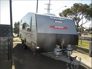 2018  TRAVELLER INTRIGUE 21' ....SOLD....C/W Special, Queen Bed, Ensuite with Shower and Toilet......