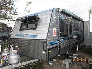 "2019 Montana "" Charm"" 18'6""...IN STOCK NOW ..Semi Off Road Single Axle Tourer, Queen Bed, Ensuite, Cafe Seating...."