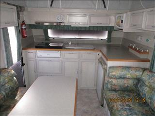 2003 Galaxy Southern Cross Pop Top, 17' Single Axle Model, Single Beds, Front Kitchen.....