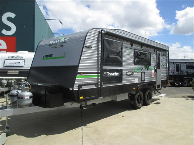 "Traveller Utopia 21'6"" Off Road Caravan, Simplicity Suspension, Queen Bed and Ensuite"