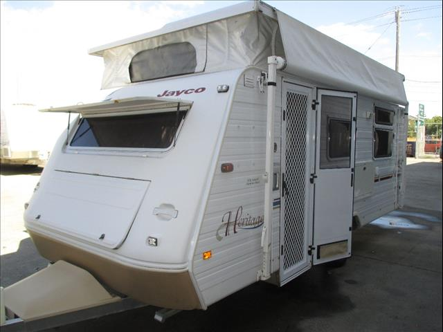 Jayco Heritage 17' Pop Top...SOLD...Caravan, 2004 Model, Island Double Bed.