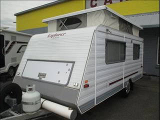 1997 Roadstar Explorer Pop Top, Rear Door Model with Single Beds, Lightweight Tourer.