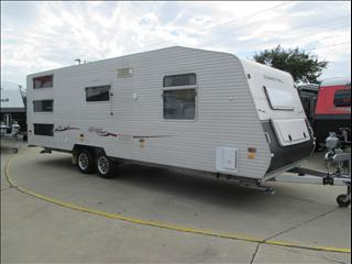 2010 COROMAL LIFESTYLE L756  25'Family Van with 3 BUNKS, Ensuite, Queen Bed, .....