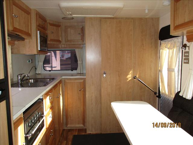 2012 Scenic Galaxy Tourer, Single Axle, Toilet ( no Shower), Double Bed, L-Shaped Dinette.....