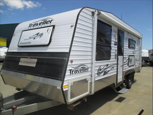 """2011 Traveller Sensation,  21'6"""" Model, Queen Bed, Cafe Seating, Full Ensuite, Loads of Options....."""