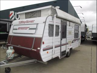 1999 Windsor Trustar Sport, 16' Pop Top, Single Axle Tourer, Double Island Bed....