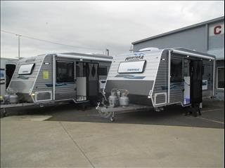 "Montana Mirage 18'6"" , 2017 Semi-Off Road Model, Queen Bed and Ensuite...Tare Weight 1880 KG..."