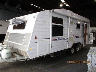 2008  Concept Ascot XLS, ...SOLD....21' Tandem Tourer, Queen Bed, Big Fridge, Separate Shower and Toilet.....