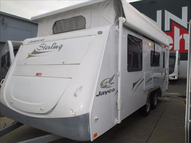JAYCO Sterling Model 17.55-3 , ....SOLD...2009, 18' Shower and Toilet Pop Top.