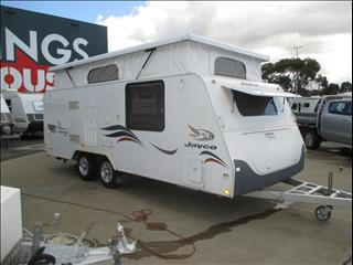 JAYCO DISCOVERY ...SOLD...Shower and Toilet Pop Top, Double Bed, Rear Kitchen, L-Shaped Lounge...
