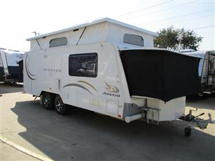 2010 JAYCO  EXPANDA 17.56-2HL Family Van with Bunks, shower and toilet, Family Layout......