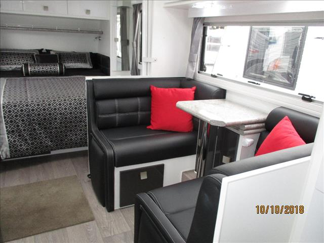 "2018 Traveller Obsession 21'6"" Big Bathroom Model, Queen Bed, Cafe Seating, Larger Ensuite....."