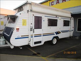 2003 Galaxy Southern Cross ...SOLD...Series11 , Single Axle Pop Top, Front Kitchen, Single Beds......