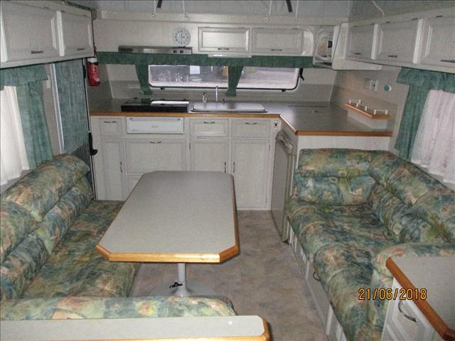 2003 Galaxy Southern Cross Series11 , Single Axle Pop Top, Front Kitchen, Single Beds......
