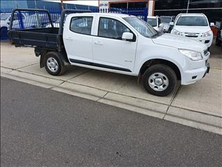 2013 HOLDEN COLORADO LX (4x4) RG MY14 CREW C/CHAS