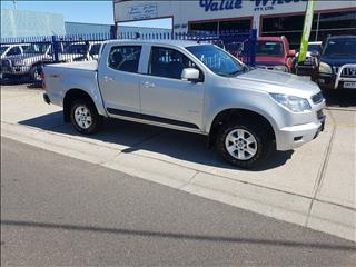 2012 HOLDEN COLORADO LX (4x4) RG CREW CAB P/UP