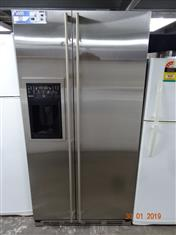 Jenn-air stainless steel side by side fridge/ freezer