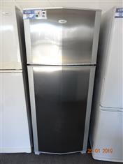 Whirlpool stainless steel 430L fridge/ freezer