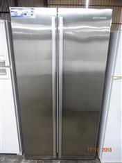 Westinghouse 606L stainless steel fridge/ freezer