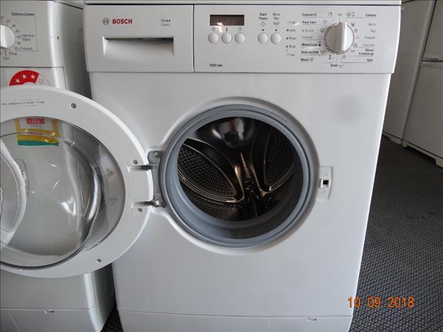 Bosch 6.5kg front loader washer