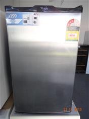Whirlpool stainless steel bar fridge