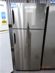 Electrolux/ Kelvinator stainless steel 442L fridge/ freezer