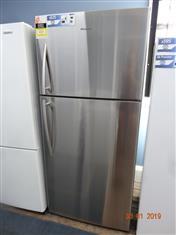 Hisense 490L stainless steel fridge/ freezer