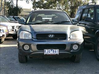 2001 Hyundai Santa Fe GL (4x4)  Wagon